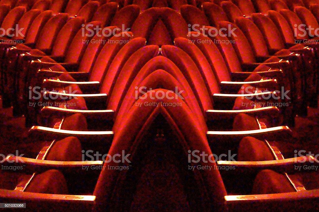 teatro stock photo