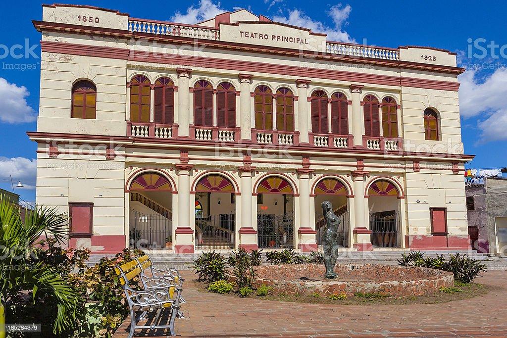 Teatro Principal, Camagüey stock photo