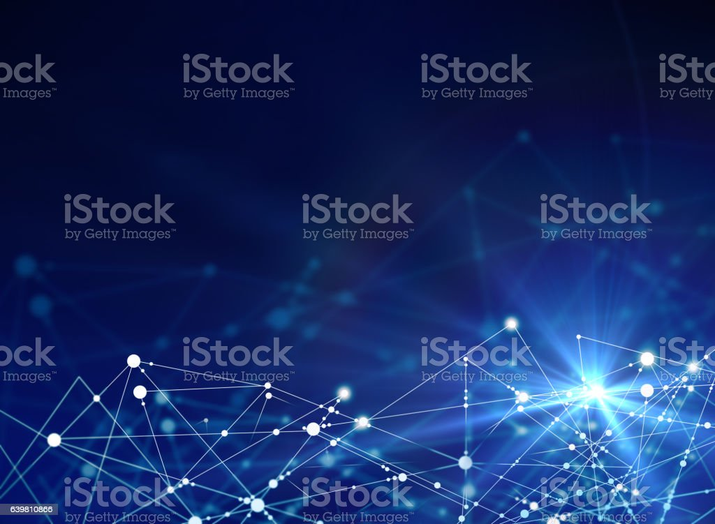 Tech concept stock photo