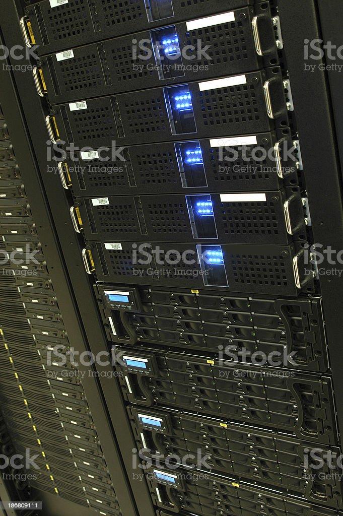 Tech: Server Rack 2 royalty-free stock photo