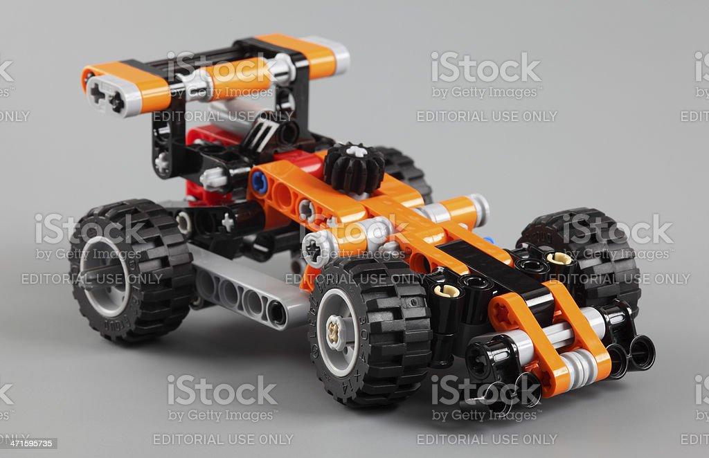 LEGO Technic race car stock photo