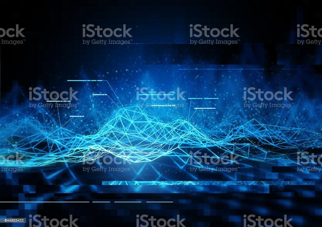 technical Data Communication stock photo