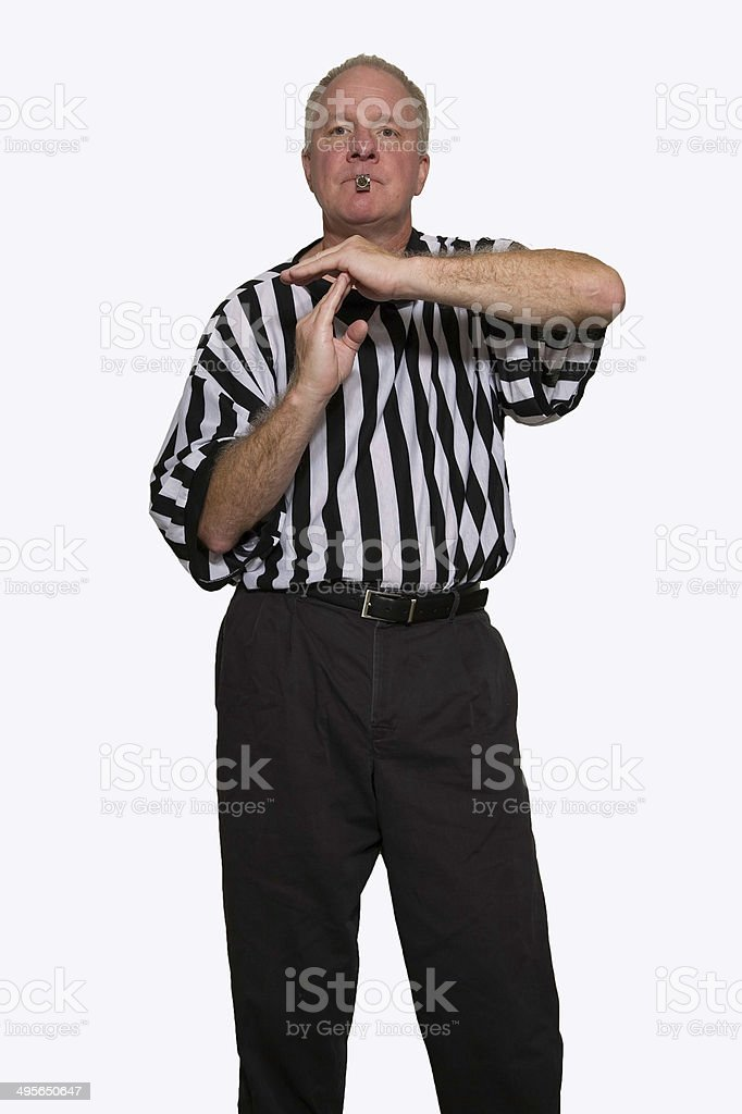 Technical Foul stock photo