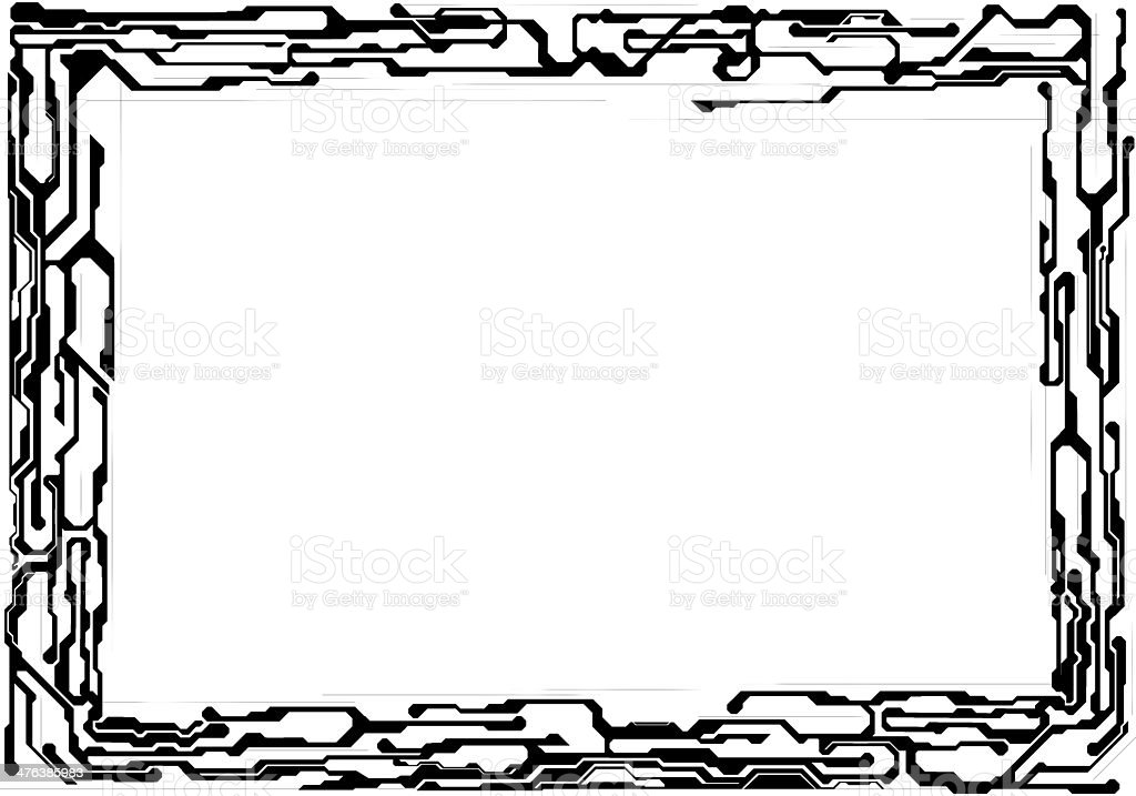 technical line royalty-free stock photo