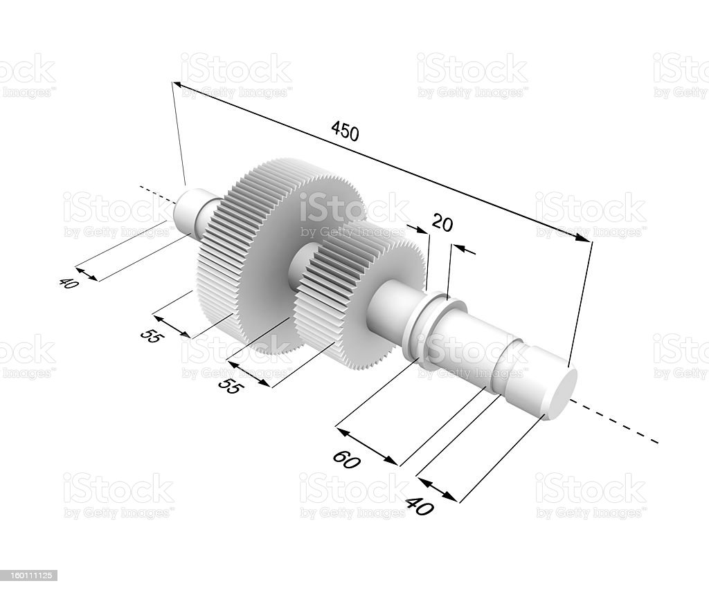 Technical picture royalty-free stock photo