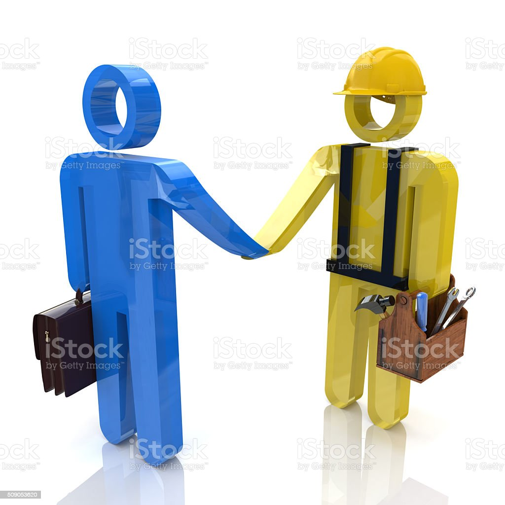 Technical support. On line service. stock photo