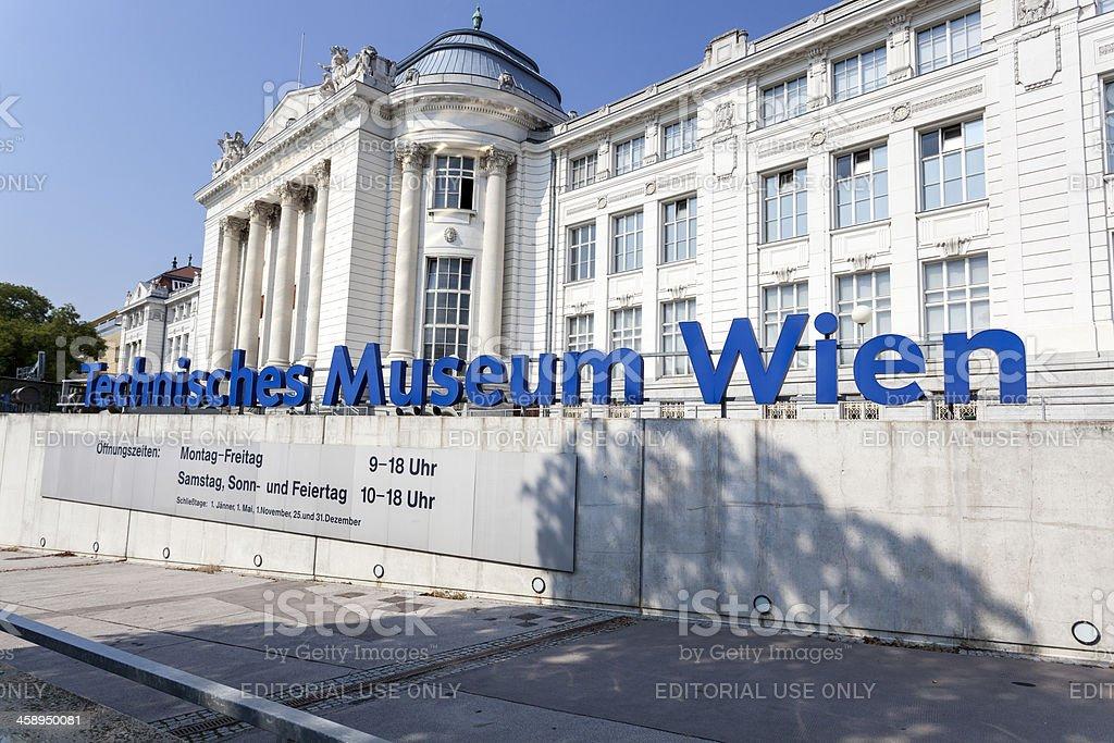 Technisches Museum, Vienna, Austria royalty-free stock photo