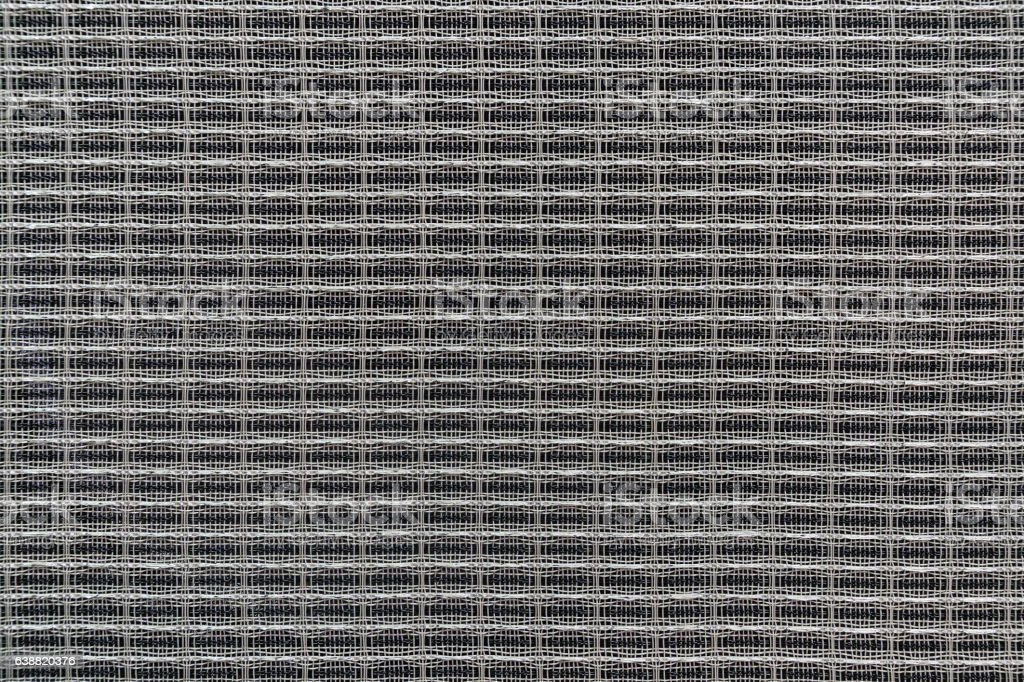 Techno background of interlaced wire stock photo