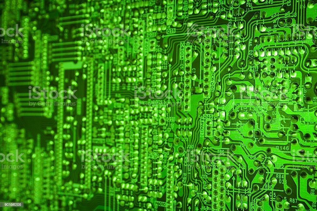 Techno background royalty-free stock photo