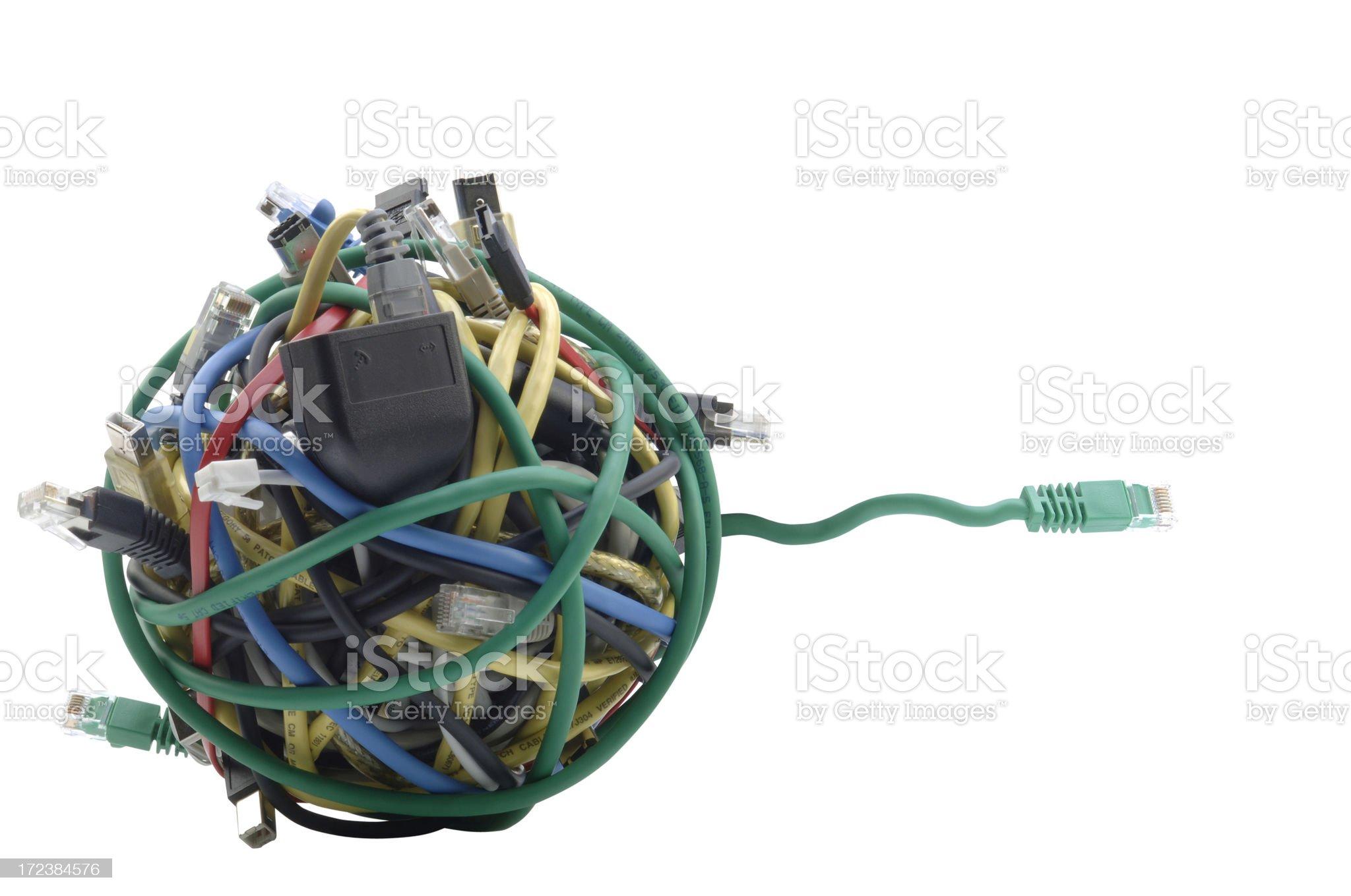 Techno Ball royalty-free stock photo
