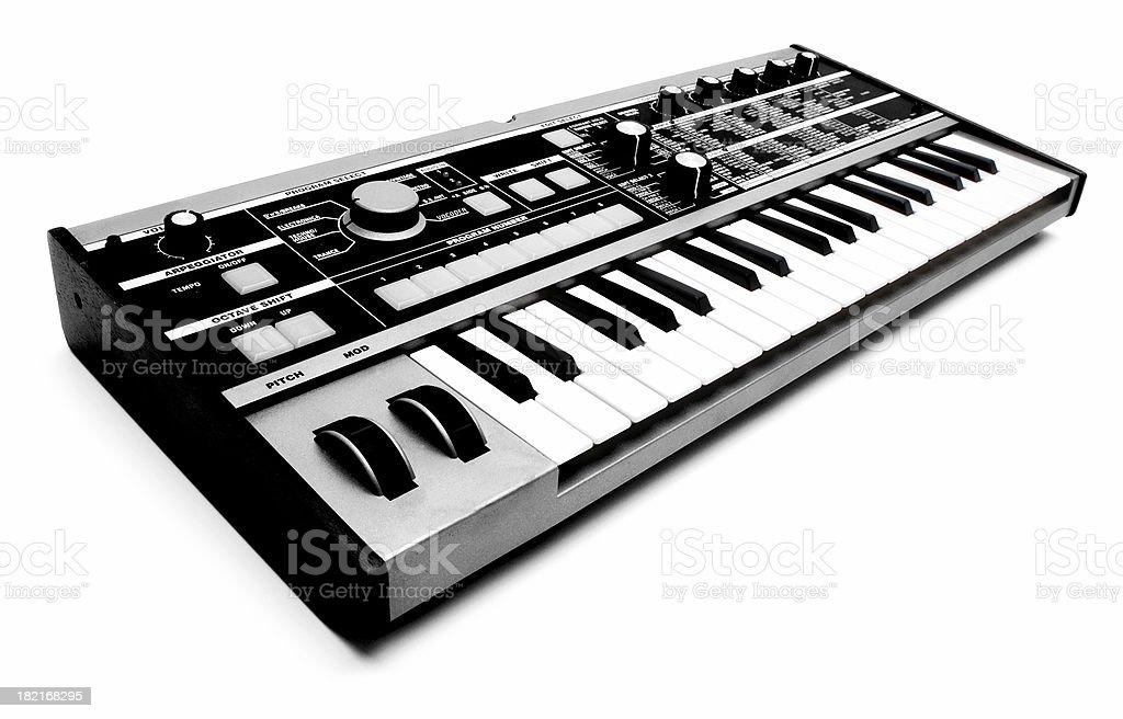 Techno Keyboard stock photo