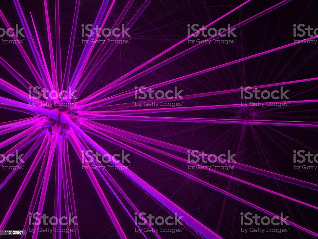 Techno Neuron Background 3D royalty-free stock photo
