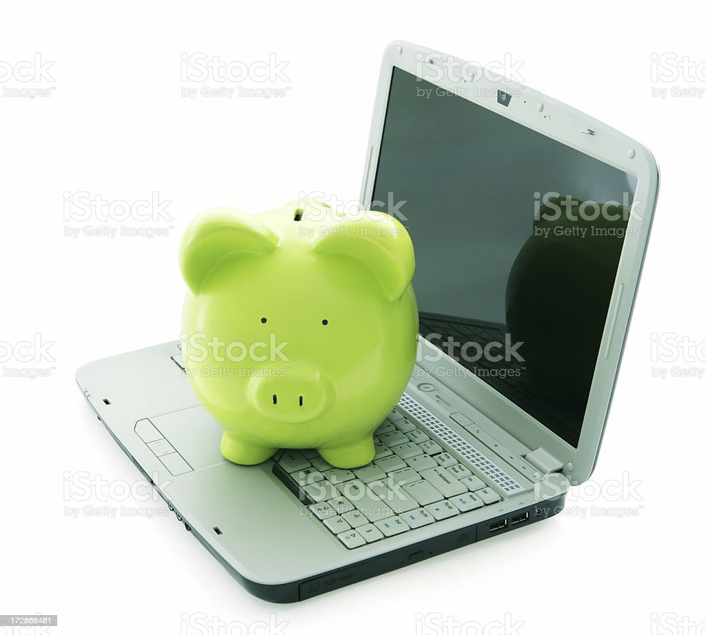 Technological Savings royalty-free stock photo