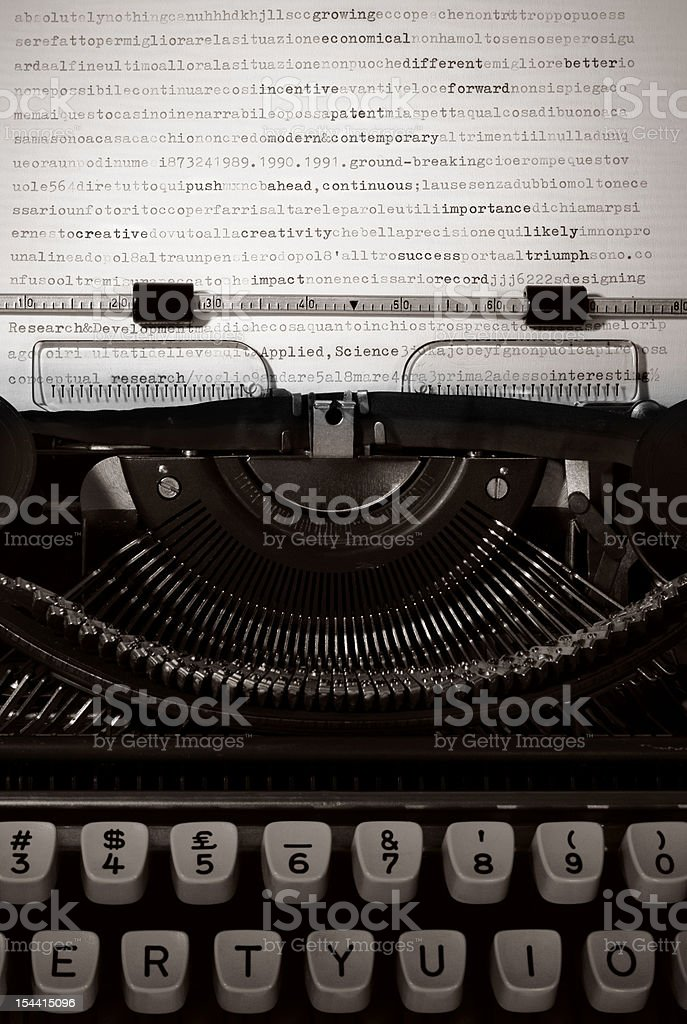 Technological success and innovation stock photo