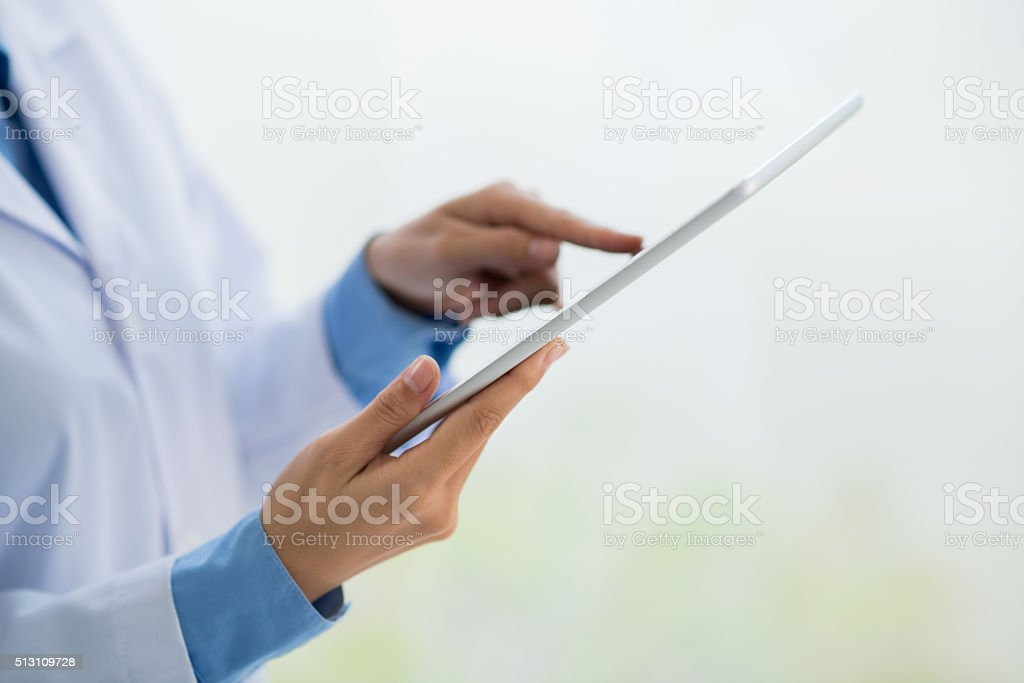 Technologies in science stock photo
