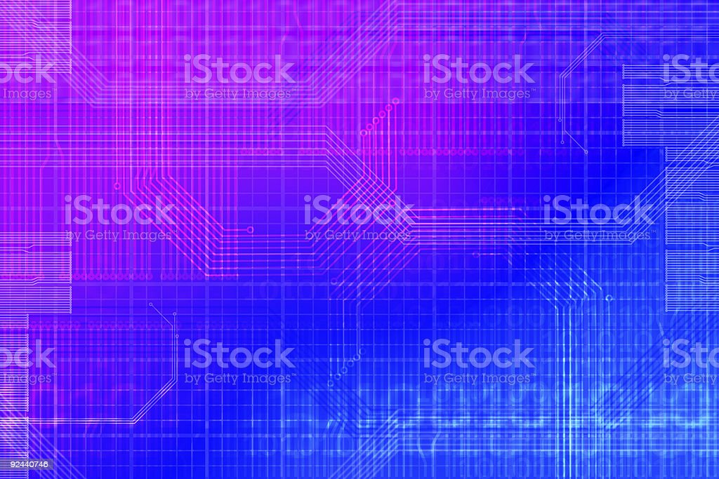 Technology Abstract 03 royalty-free stock photo
