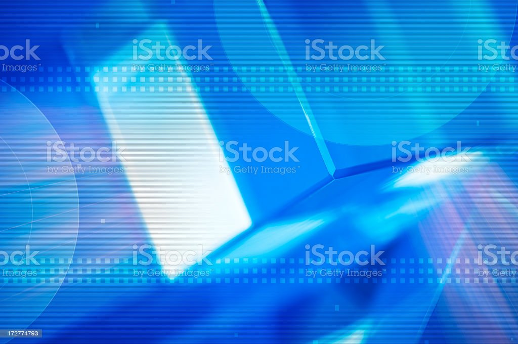 Technology Abstract royalty-free stock photo
