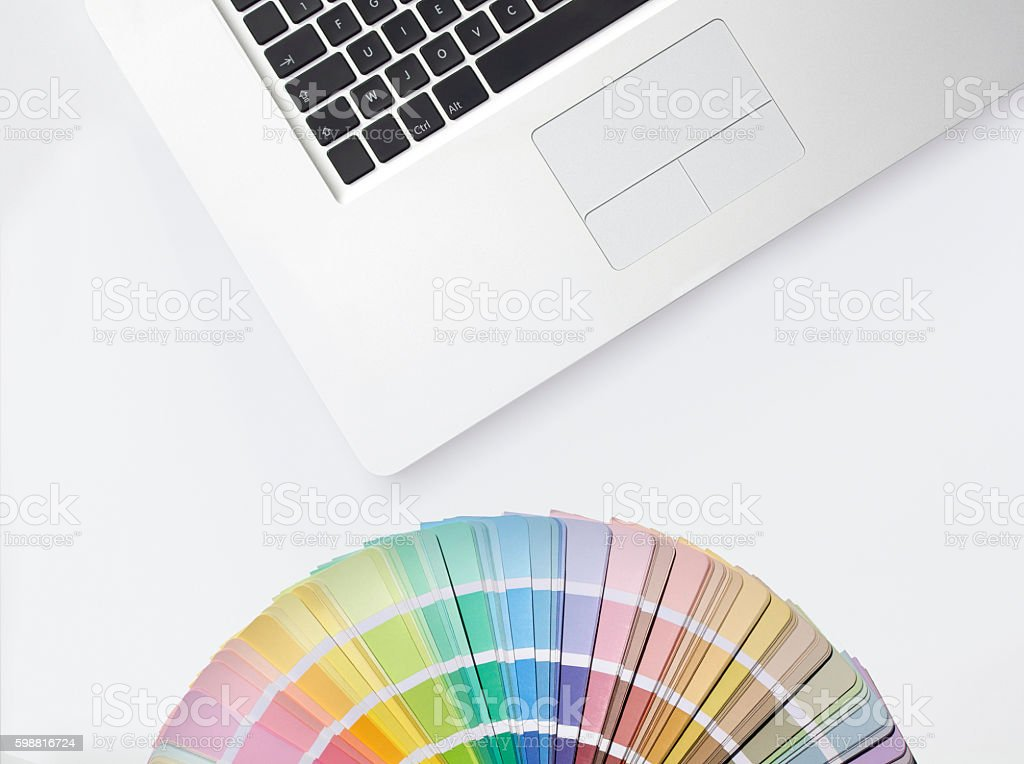 Technology and Colors stock photo