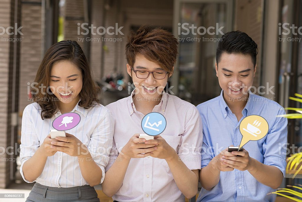 Technology and internet concept stock photo