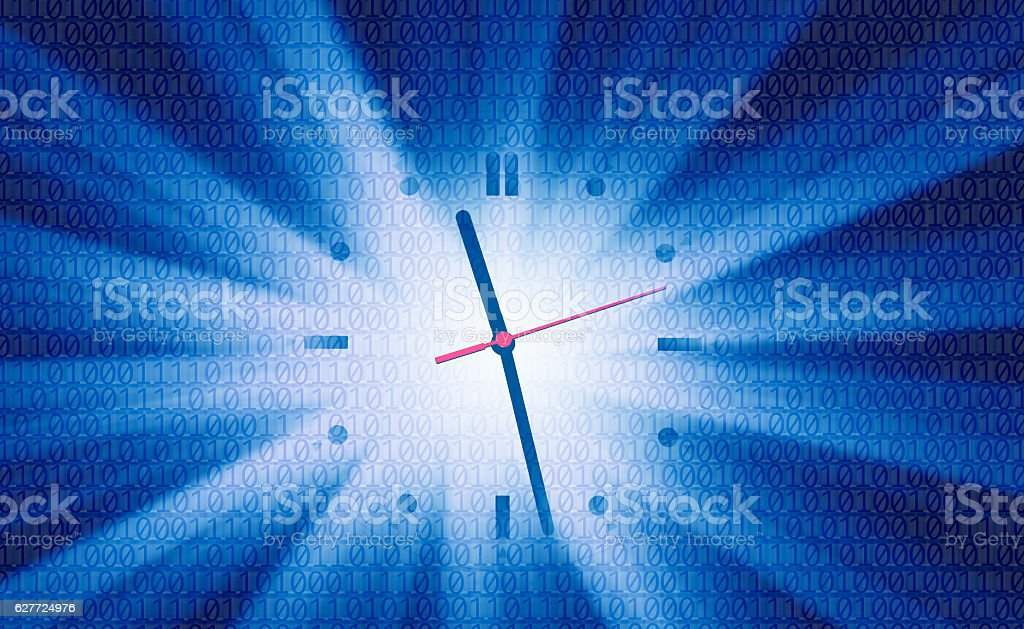 technology and time stock photo