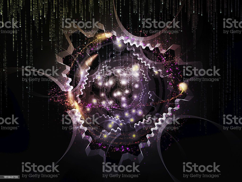 Technology Backdrop royalty-free stock photo