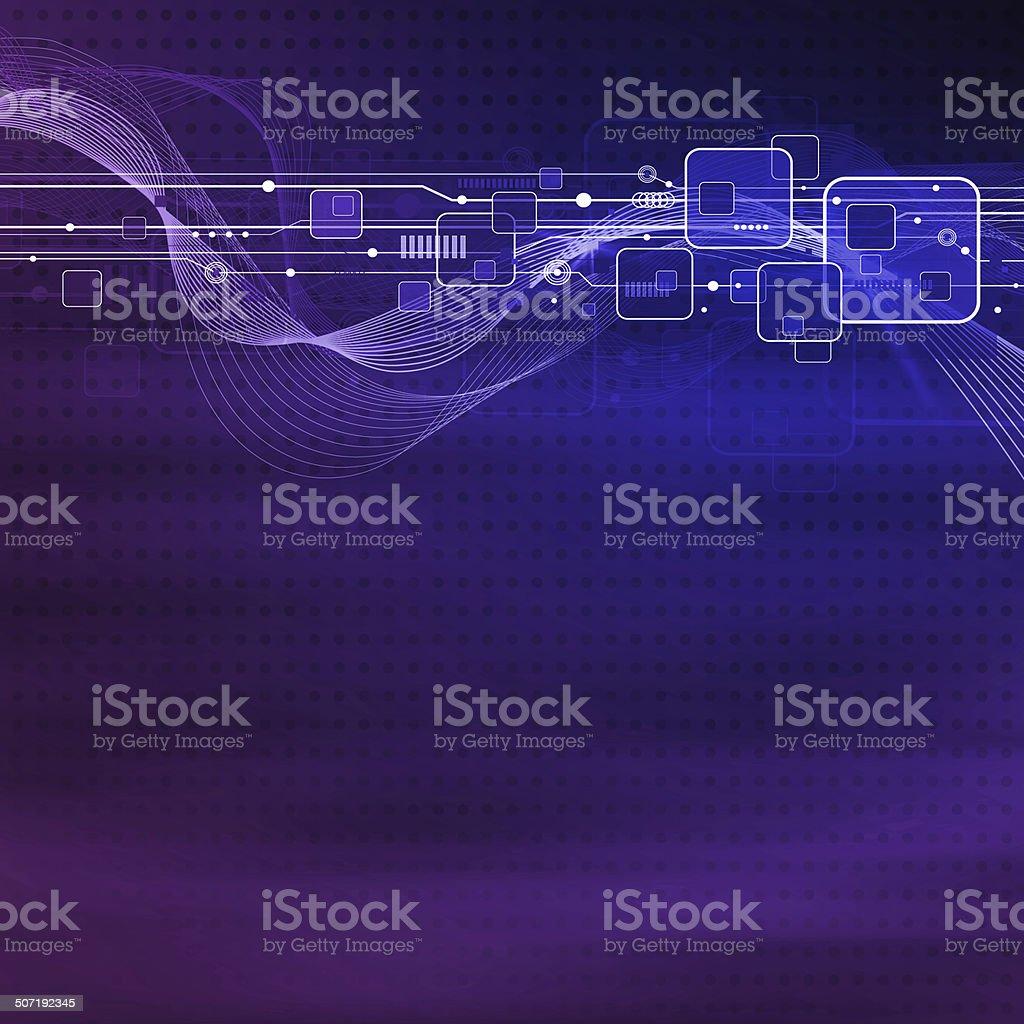 Technology background design royalty-free stock photo