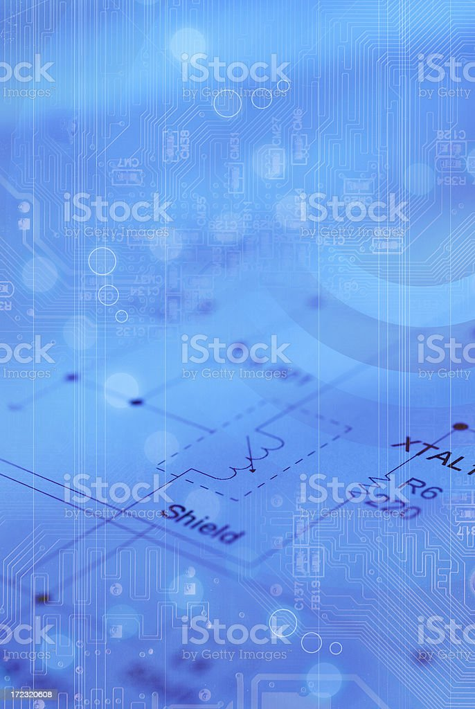 Technology Backgrounds royalty-free stock photo