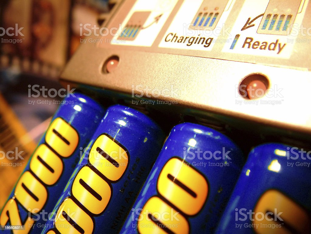 Technology - charger stock photo