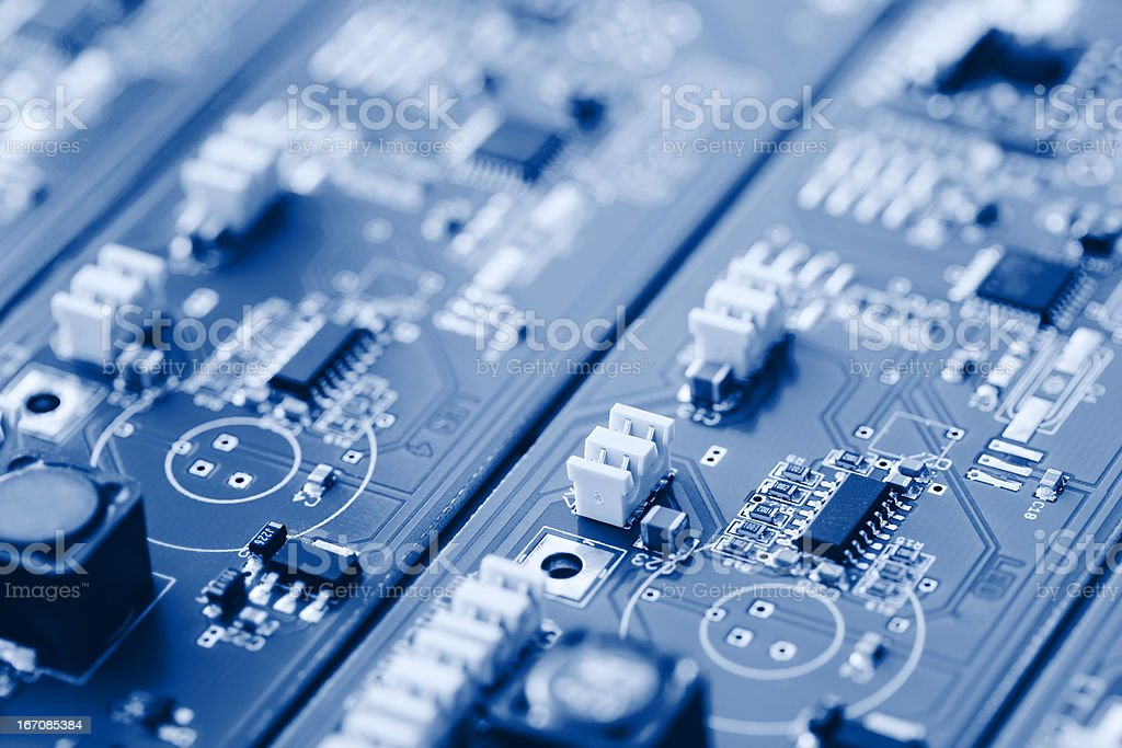 Technology - Circuit Board stock photo