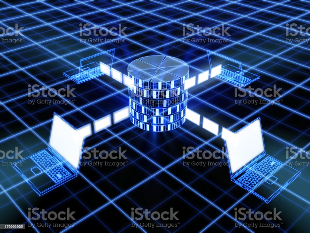 technology concept stock photo