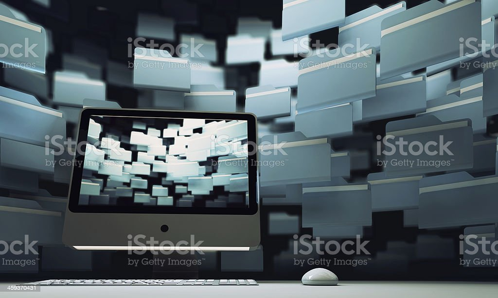 Technology design concept. royalty-free stock photo