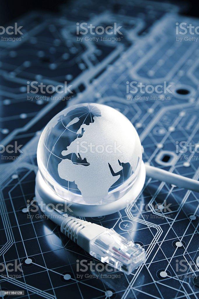 technology earth globe royalty-free stock photo