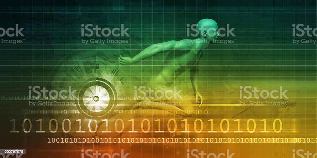 Technology Evolution stock photo