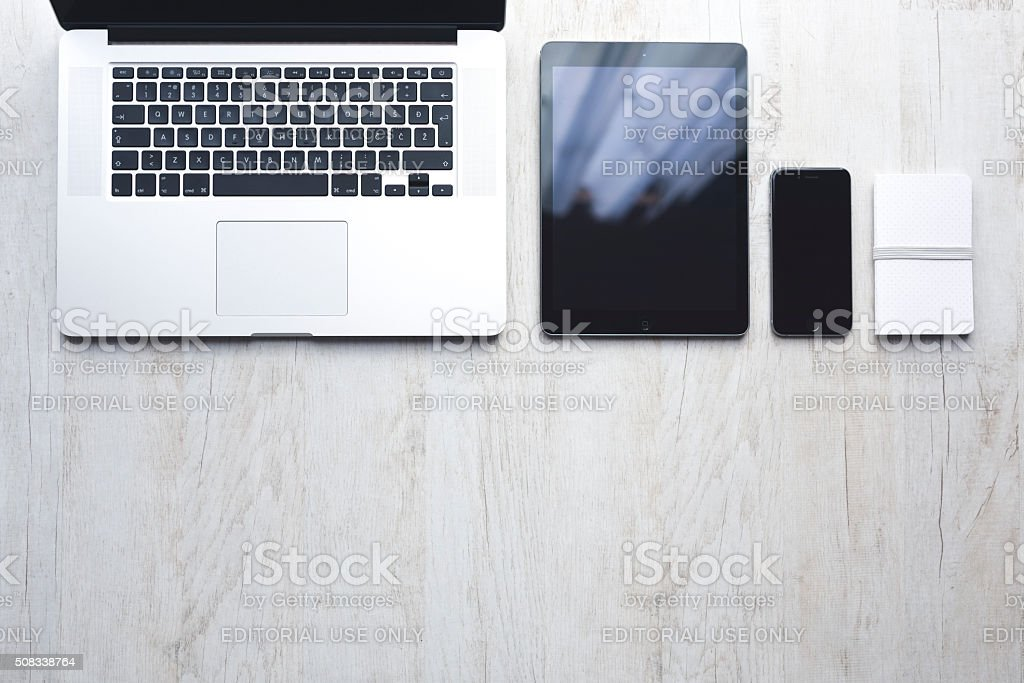 Technology from Apple stock photo