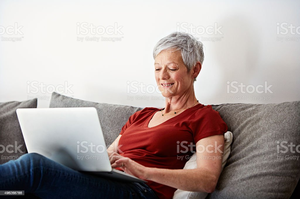 Technology gets easier by the day stock photo