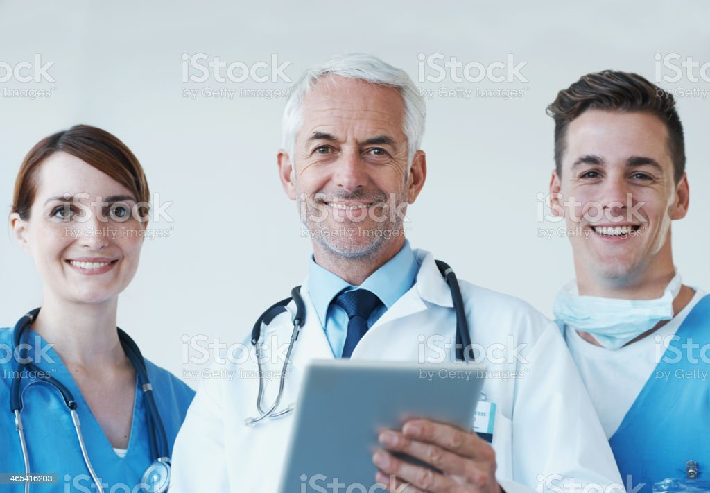 Technology is paving the way for new medical discoveries royalty-free stock photo