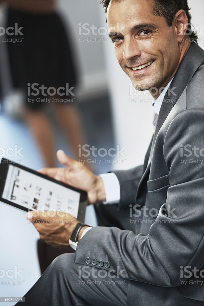 Technology: keeping the world connected royalty-free stock photo