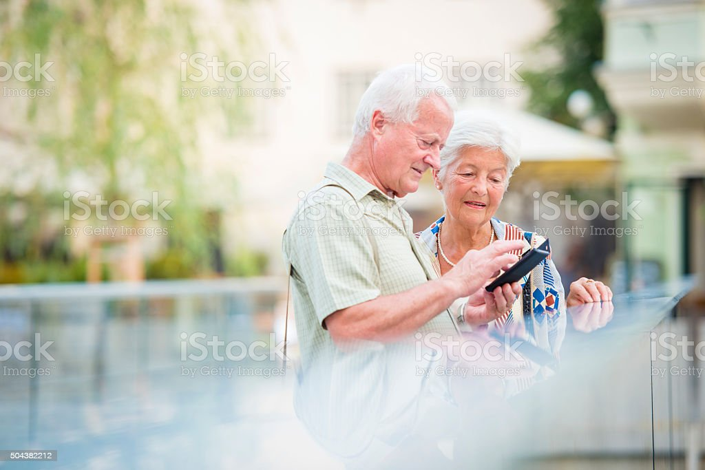 Technology makes things easier stock photo