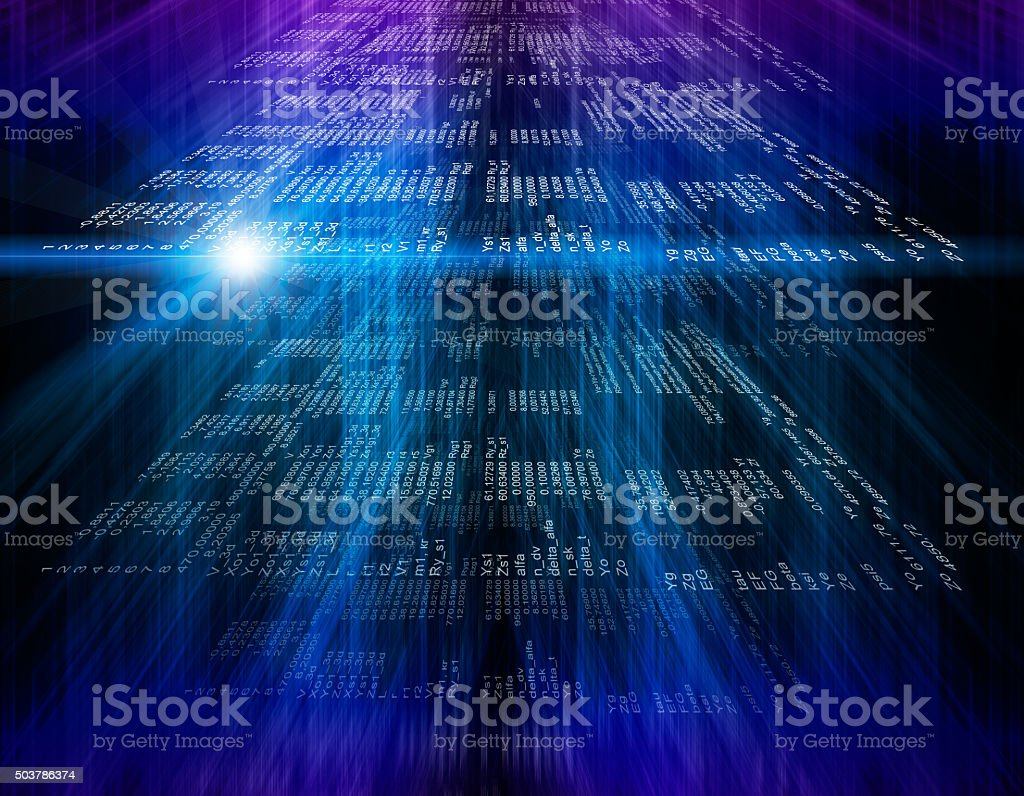 Technology modern screen stock photo