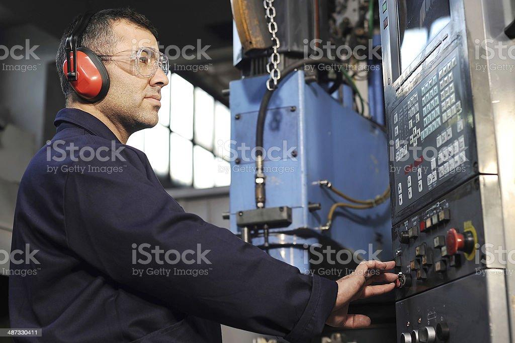 CNC technology stock photo