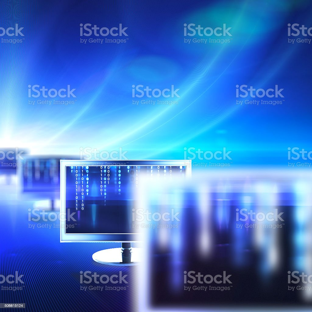 IT Technology stock photo