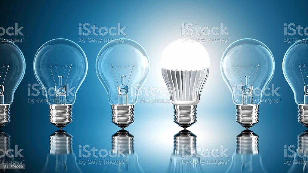 LED Technology stock photo
