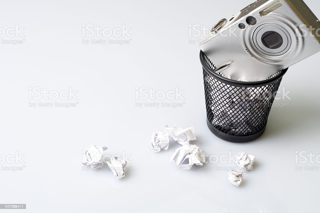 Technology recycling royalty-free stock photo