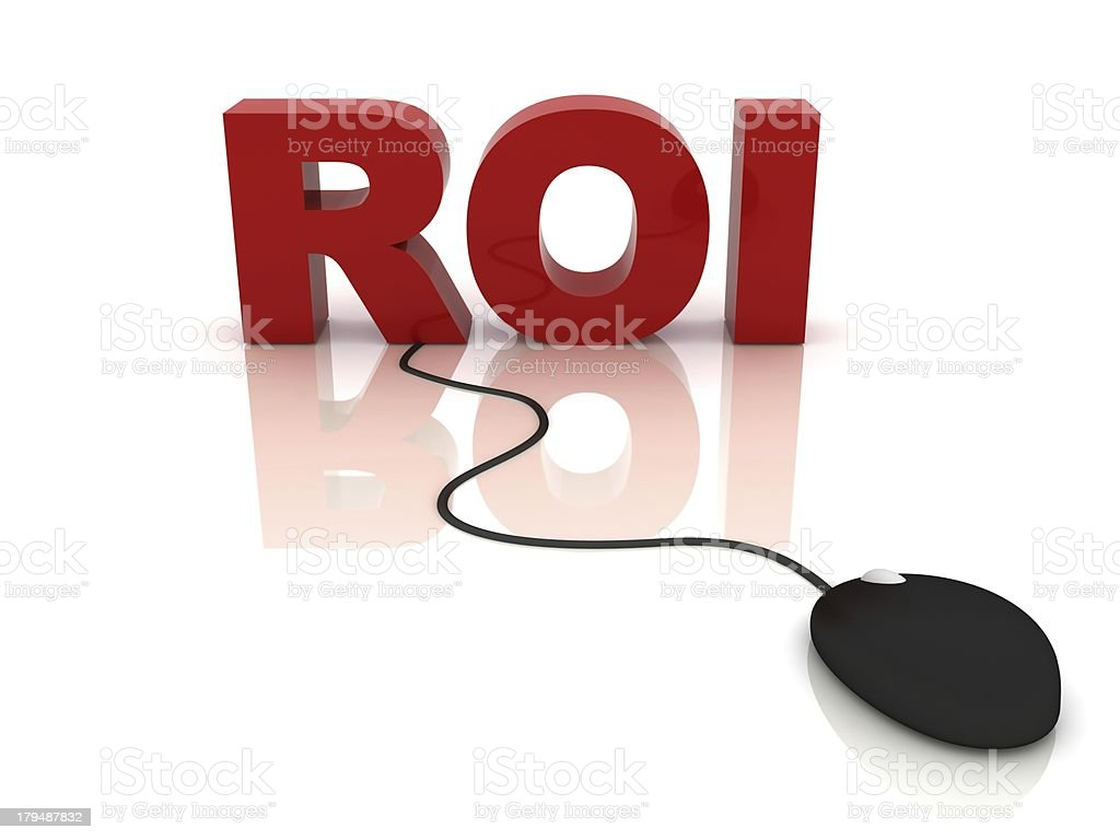 Technology ROI royalty-free stock photo