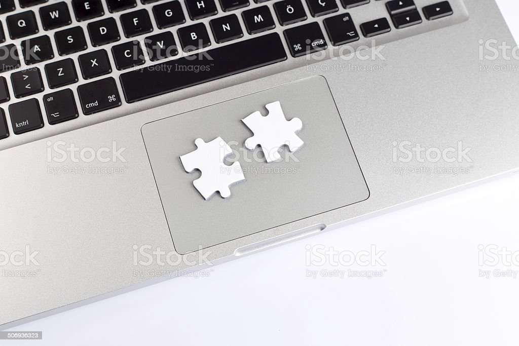 Technology Solutions Concept royalty-free stock photo