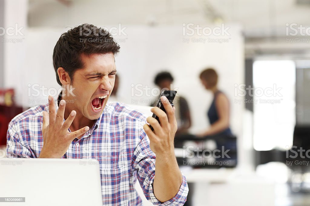 Technology troubles stock photo