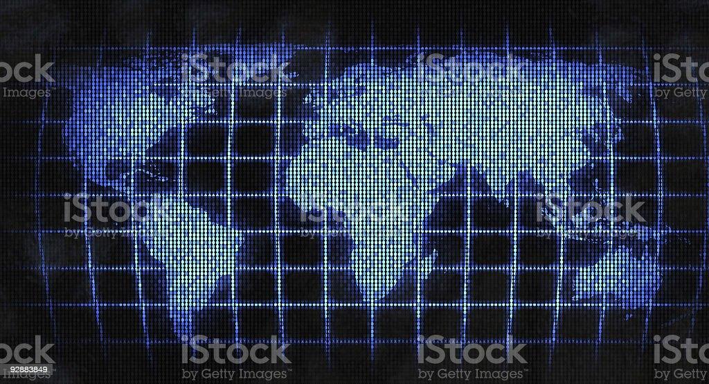 Technology world royalty-free stock photo