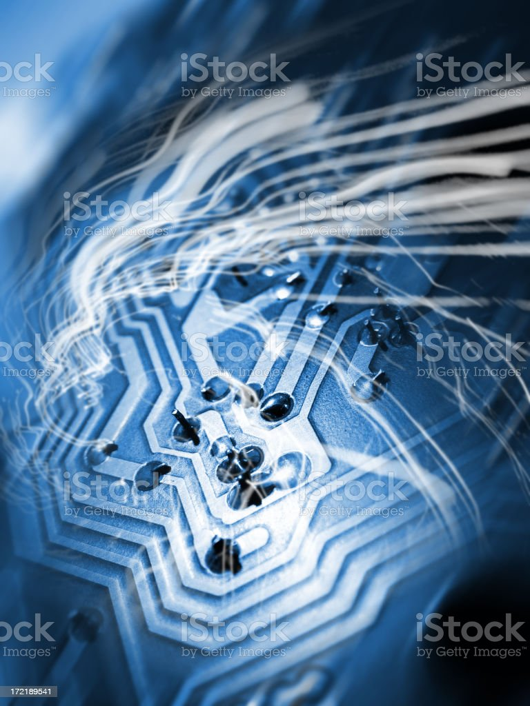 Technology Zoom 001 stock photo