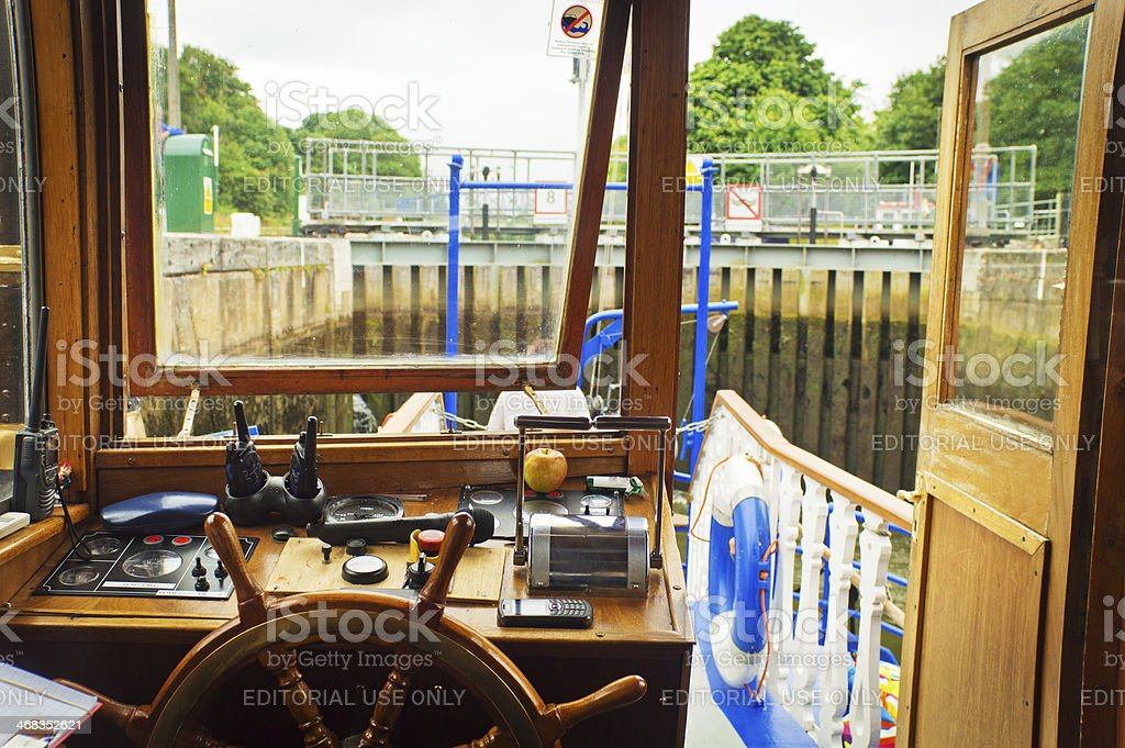 Teddington Lock royalty-free stock photo
