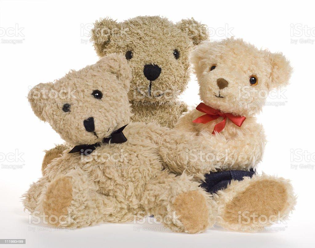 Teddy Bear Family royalty-free stock photo